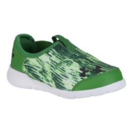 Under Armour Toddler SuperFlex Running Shoes - Green/White