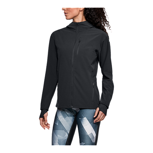 Under Armour Womens Outrun The Storm Jacket Under Armour Apparel 1308929