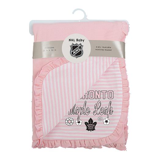 pretty nice e1b30 a10c1 Toronto Maple Leafs Infant Girls' Lil Kicker Blanket