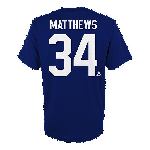quality design ed54b 4583a Toronto Maple Leafs Kids' Auston Matthews Player T Shirt