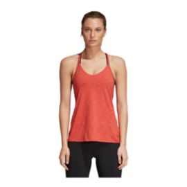 adidas Women's Strappy Tank - Trace Scarlet