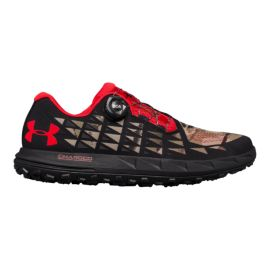 Under Armour Men's Fat Tire 3 Running Shoes - Barren/Black/White