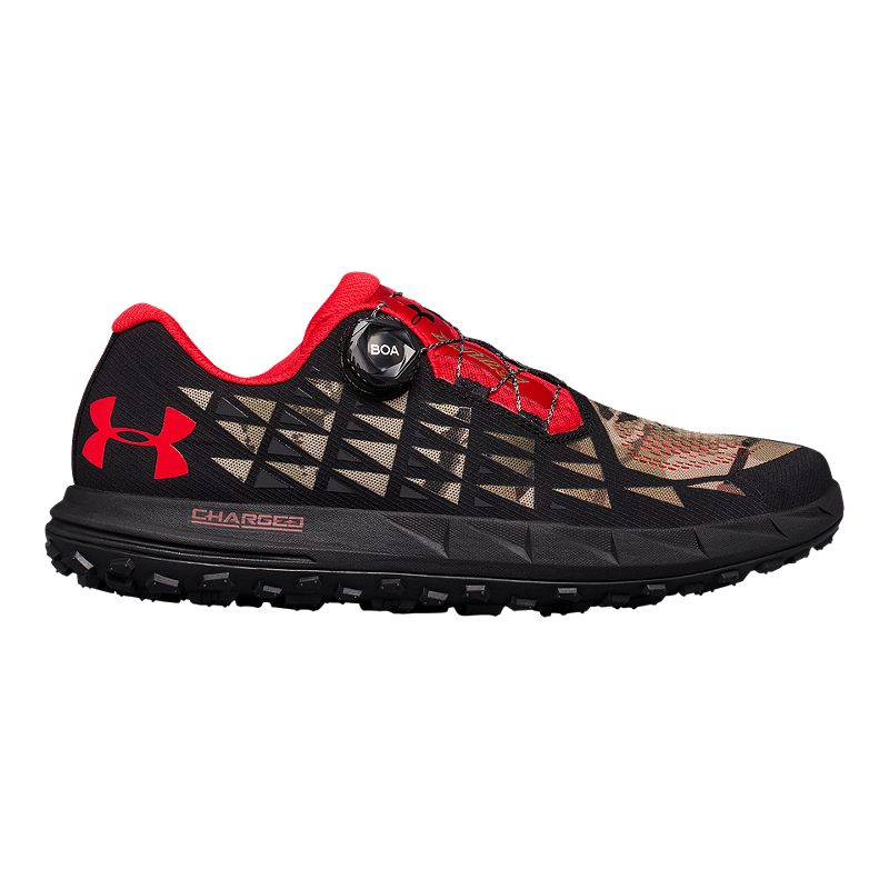 hot sale online 2ae15 4fd7f Under Armour Men's Fat Tire 3 Running Shoes - Barren/Black/White