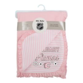 Calgary Flames Infant Girls' Lil Kicker Blanket