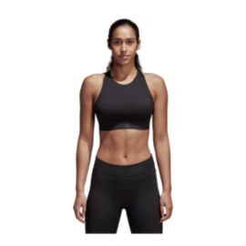 adidas Women's Halter Mid Padded Sports Bra - CD