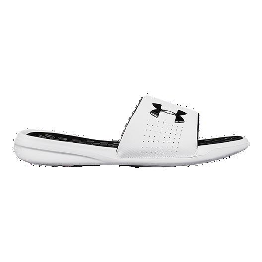 633270bd365a15 Under Armour Men's Playmaker Fix SL Sandals - White/Black. (0). View  Description