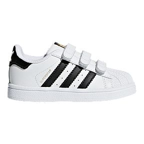 98c941d4f34ad adidas Toddler Superstar Shoes - White Black White