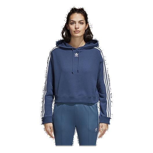 2d0d47a526d9e adidas Originals Women s Cropped Hoodie