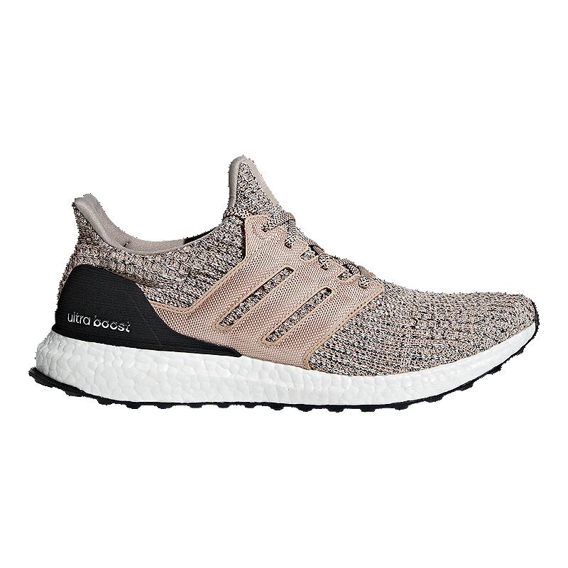 adidas Men s Ultra Boost Running Shoes - Ash Pearl Black f9848fb9b