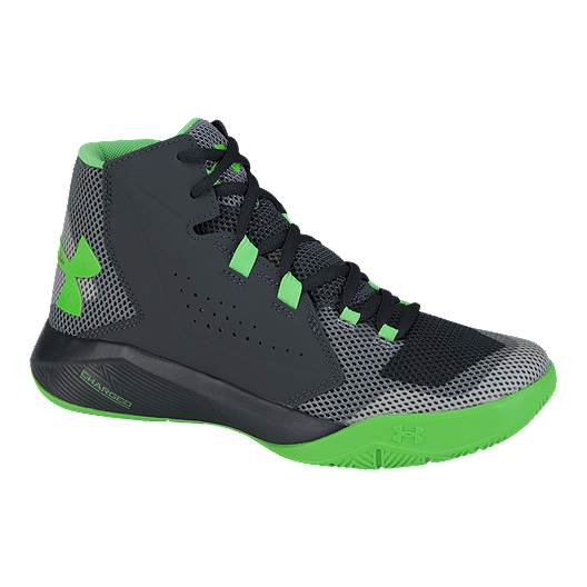 0d7c3141 Under Armour Kids' Torch Fade Grade School Basketball Shoes - Grey ...
