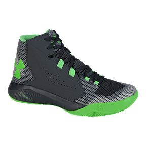 960c774c050 Under Armour Kids  Torch Fade Grade School Basketball Shoes - Grey Green