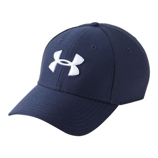 d50d9a4ee Under Armour Men's Blitzing 3.0 Stretch Fit Hat - Navy