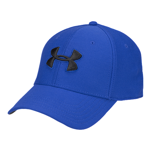 d508c257125d7 Under Armour Men s Blitzing 3.0 Stretch Fit Hat - Royal