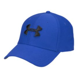 Under Armour Men's Blitzing 3.0 Stretch Fit Hat - Royal