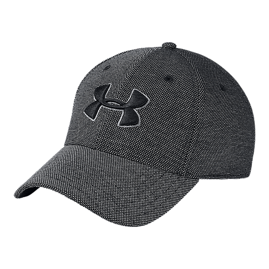 f01d3483 Under Armour Men's Heather Blitzing 3.0 Hat - Black