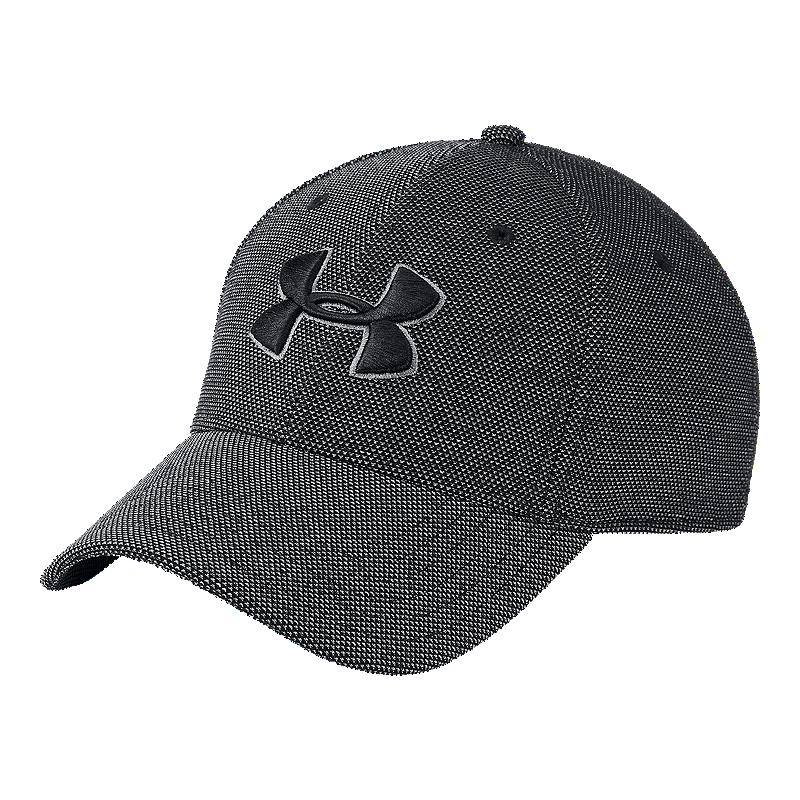 1e23192659d Under Armour Men s Heather Blitzing 3.0 Hat - Black