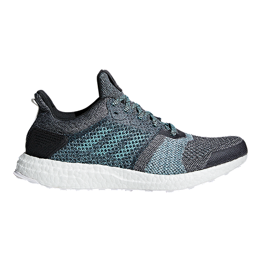 d76bf79b21e adidas Men s Ultra Boost ST Parley Running Shoes - Grey Blue