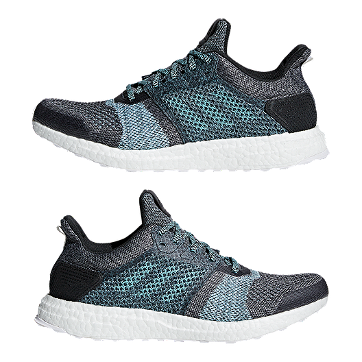 6b551b52a5c adidas Men s Ultra Boost ST Parley Running Shoes - Grey Blue. (1). View  Description