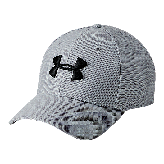 size 40 59d1f f0a25 Under Armour Men s Heather Blitzing 3.0 Hat - Steel   Black   Sport Chek