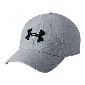 a8f31934d430c Under Armour Men s Heather Blitzing 3.0 Hat - Steel   Black