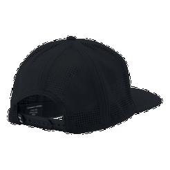 Under Armour Men s Supervent Flat Brim Hat - Black   White  5bc593004a7