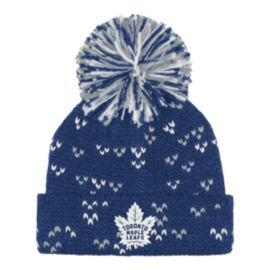 Toronto Maple Leafs adidas Women's Cuffed Pom Knit