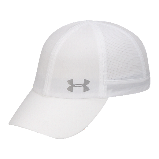 4d8f0e70 Under Armour Women's Fly By Run Hat - White / Silver