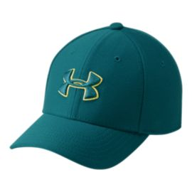 Under Armour Boys' Blitzing 3.0 Stretch Fit Hat - Teal