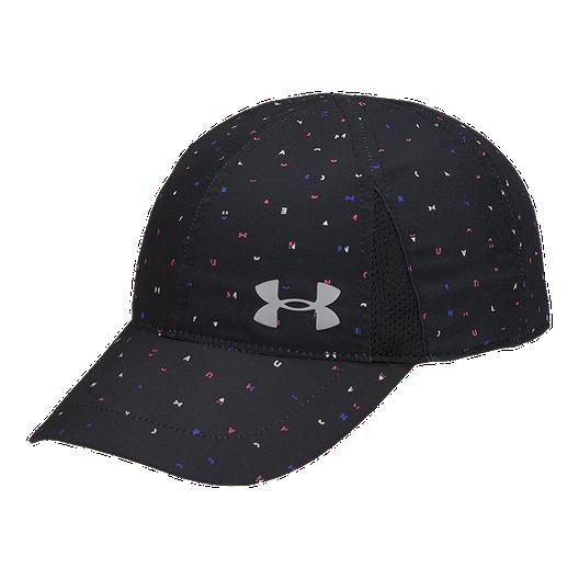 90e305c46c0 Under Armour Girls  Shadow Run Hat - Black