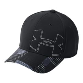 Under Armour Boys' Billboard 2.0 Hat - Black / Gray