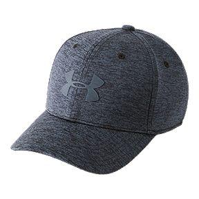 47f90d8c0c2 Under Armour Boys  Twist Closer Stretch Fit Hat - Black Stealth Grey
