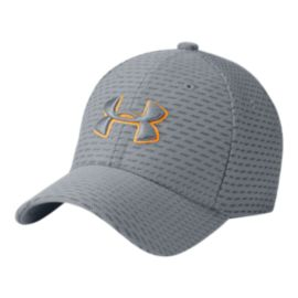 Under Armour Boys' Printed Blitzing 3.0 Hat - Steel