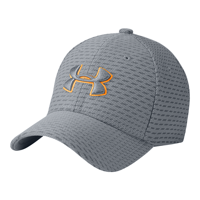 4d9a4b4507d Under Armour Boys  Printed Blitzing 3.0 Hat - Steel