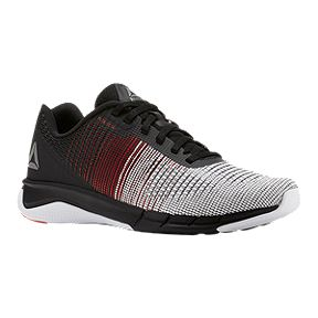 290c43c85 Reebok Kids  Fast Flexweave Grade School Running Shoes - Black Red White