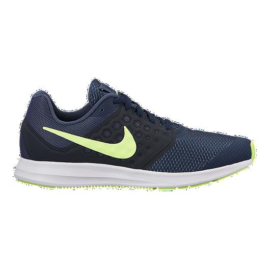 709b850b32e Nike Kids  Downshifter 7 Grade School Shoes - Blue Volt