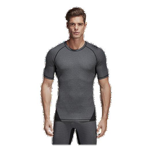 b168610fa501c adidas Men's Alphaskin Compression Short Sleeve Shirt | Sport Chek