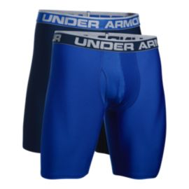 Under Armour Men's O Series 9 Inch Boxerjock - 2 Pack - Royal/Academy