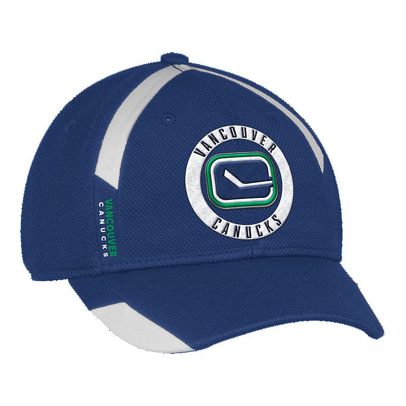18c8c41c7 Vancouver Canucks adidas Men s Practice Jersey Hook Hat