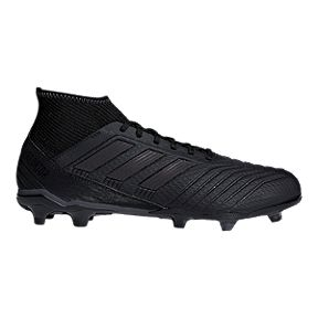 cheap for discount 05232 c1ebb adidas Mens Predator 18.3 FG Outdoor Soccer Cleats - Black