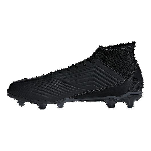 2e955190e55 adidas Men's Predator 18.3 FG Outdoor Soccer Cleats - Black