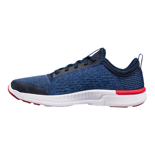 142cfe9093de Under Armour Kids  Lightning 2 Grade School Running Shoes - Navy White Red