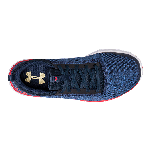 d13d086f8fc6 Under Armour Kids  Lightning 2 Grade School Running Shoes - Navy White Red.  (0). View Description
