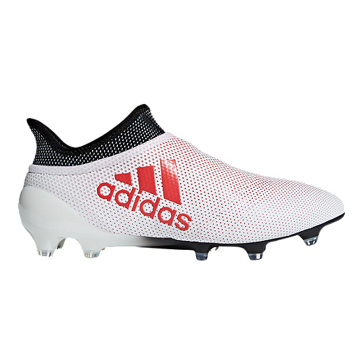 9fe73a05756 adidas Men s X 17+ Purespeed FG Outdoor Soccer Cleats - Grey Coral - GREY