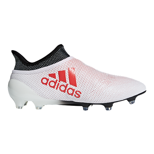 6fa966f5f4b5 adidas Men s X 17+ Purespeed FG Outdoor Soccer Cleats - Grey Coral ...