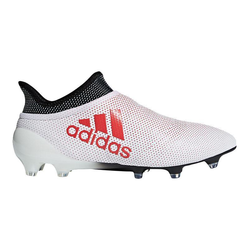 9a6c1fba1e5 adidas Men s X 17+ Purespeed FG Outdoor Soccer Cleats - Grey Coral  (191028968578