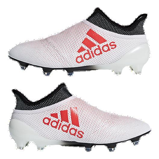 3dc3e578b adidas Men's X 17+ Purespeed FG Outdoor Soccer Cleats - Grey/Coral. (0).  View Description