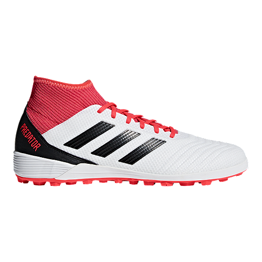b669fc95f adidas Men s Predator Tango 18.3 Turf Indoor Soccer Shoes - White Black -  WHITE
