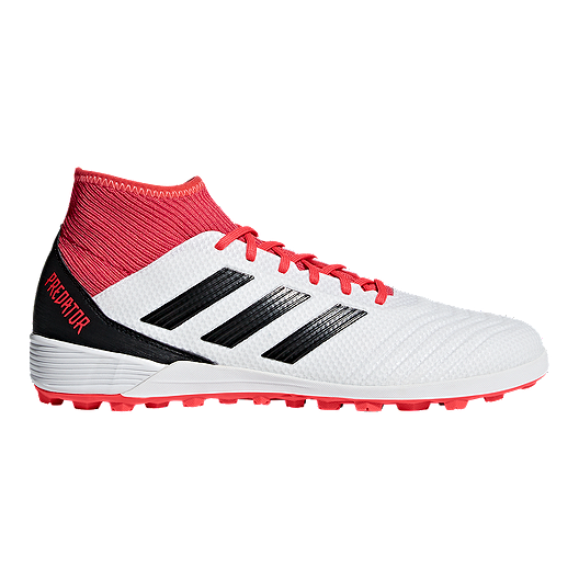 7ae88309e44e adidas Men's Predator Tango 18.3 Turf Indoor Soccer Shoes - White/Black |  Sport Chek