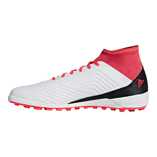 b1560f4fb4334 adidas Men's Predator Tango 18.3 Turf Indoor Soccer Shoes - White/Black