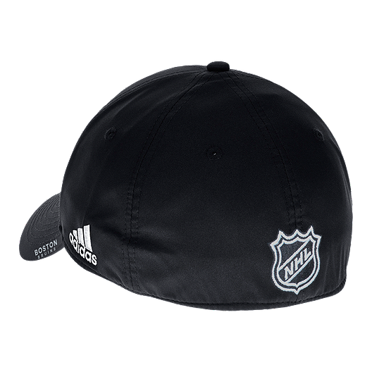 b4ba3290 Boston Bruins adidas Men's Second Season Structured Flex Hat | Sport ...